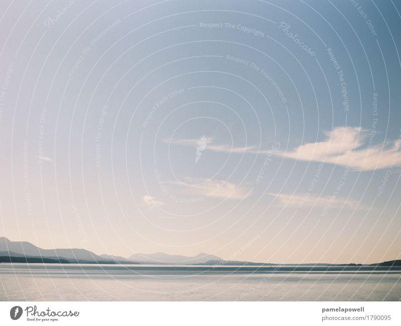 Himmel Natur Ferien & Urlaub & Reisen blau Sommer Wasser Landschaft weiß Sonne Meer Erholung ruhig Umwelt Küste Tourismus Freiheit