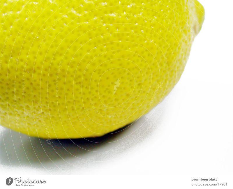 Zitrone gelb Dinge Nahaufnahme Detailaufnahme Frucht