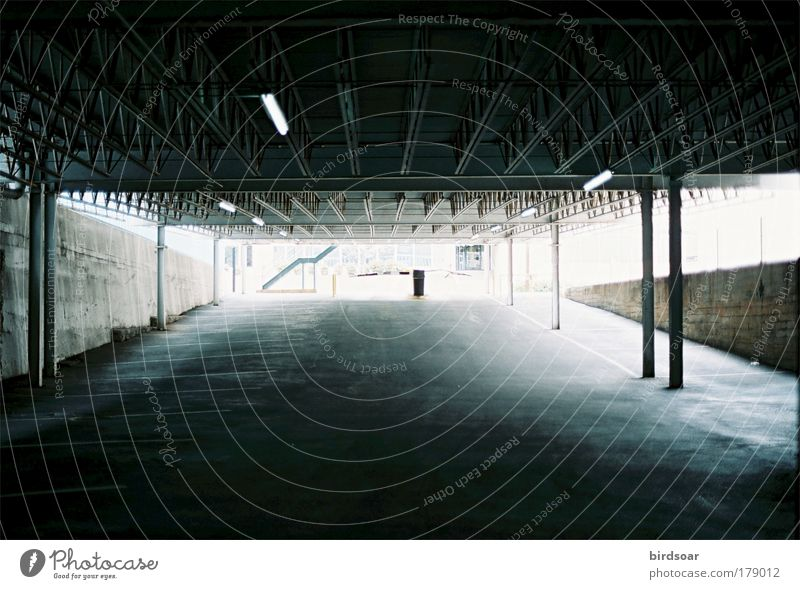 Stadt Coolness USA analog Parkhaus Nordamerika 35 Millimeter Film