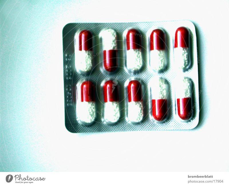 Blisterpackung Dinge Gesundheitswesen Medikament Verpackung