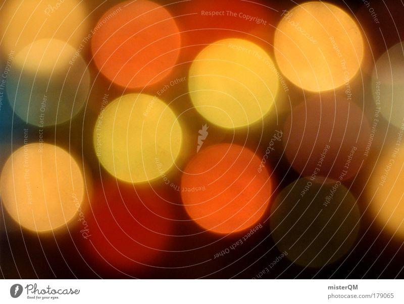 Vorfreude. Hintergrundbild Feste & Feiern glänzend Zufriedenheit abstrakt ästhetisch Punkt geheimnisvoll Show Wunsch Veranstaltung Momentaufnahme Geborgenheit