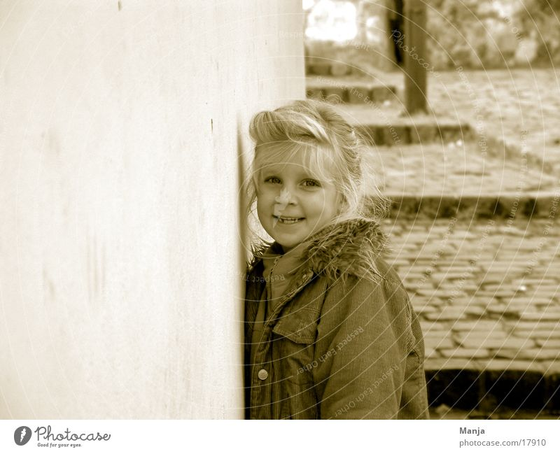 Lina Mensch Kind Mädchen lachen Duplex