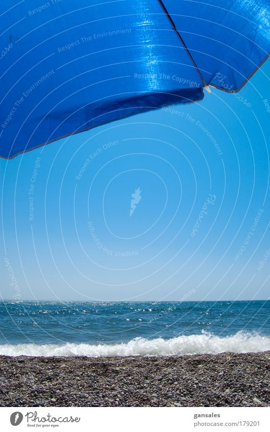 Natur Wasser schön Himmel Meer blau Sommer Freude Strand Ferien & Urlaub & Reisen Erholung Wärme hell Küste Lifestyle Fröhlichkeit