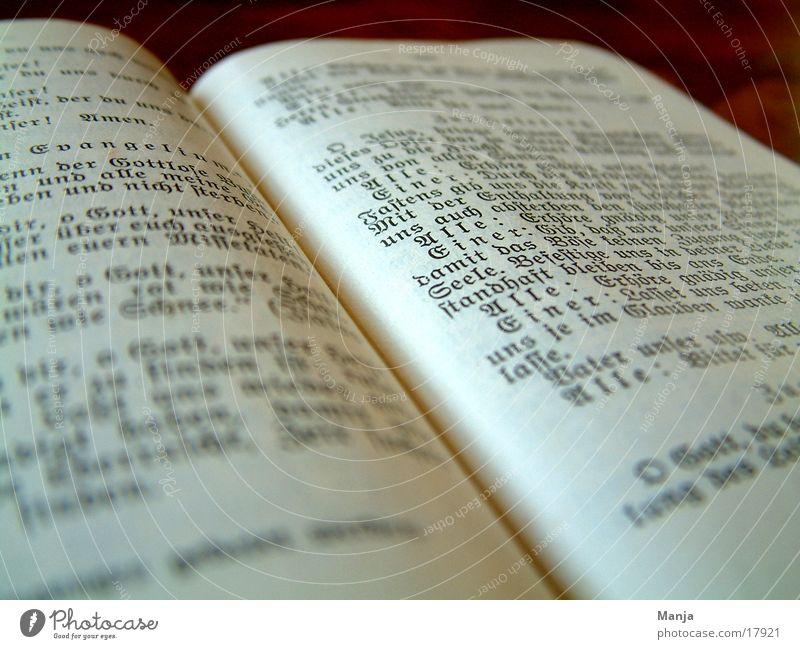 Buch Religion & Glaube Buch Schriftzeichen Dinge
