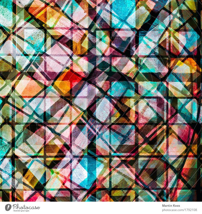 Patchwork Farbe schön Religion & Glaube außergewöhnlich Mode Linie Design träumen modern ästhetisch Kreativität verrückt Zeichen planen Wandel & Veränderung