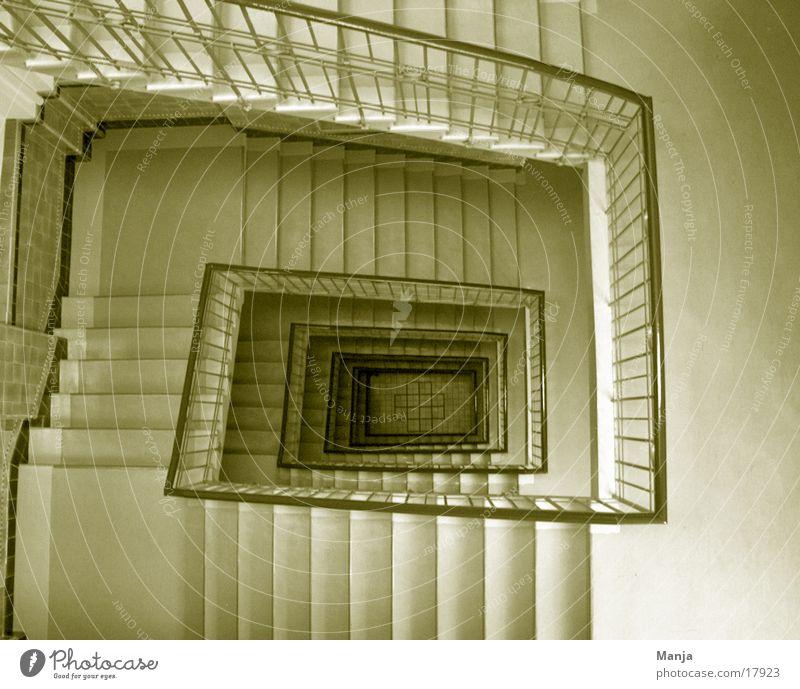 Treppenhaus Architektur Flur eckig