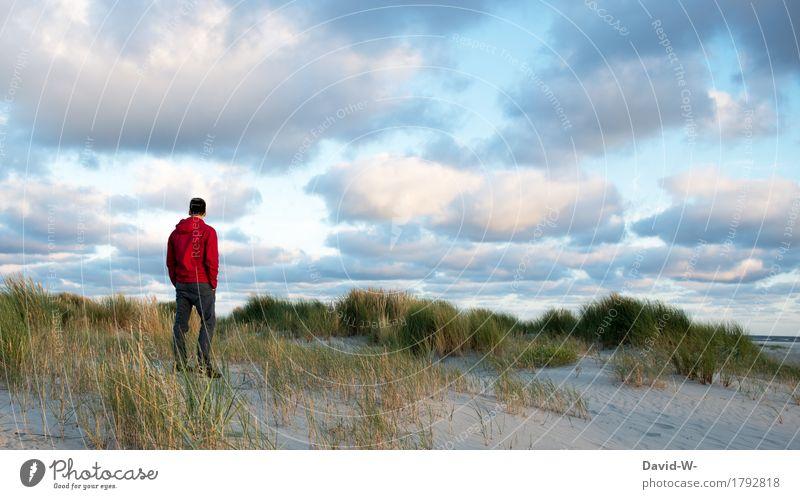 Dem Klang des Meeres lauschen Gesundheit Leben harmonisch Wohlgefühl Zufriedenheit Sinnesorgane Erholung ruhig Meditation Kur Ferien & Urlaub & Reisen Abenteuer
