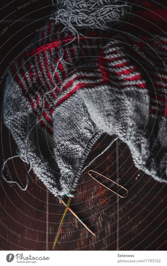 Strickliesl Erholung ruhig Wärme Freizeit & Hobby Zufriedenheit Kreativität weich Wohlgefühl harmonisch Sinnesorgane Wolle Handarbeit Nadel stricken Wollknäuel
