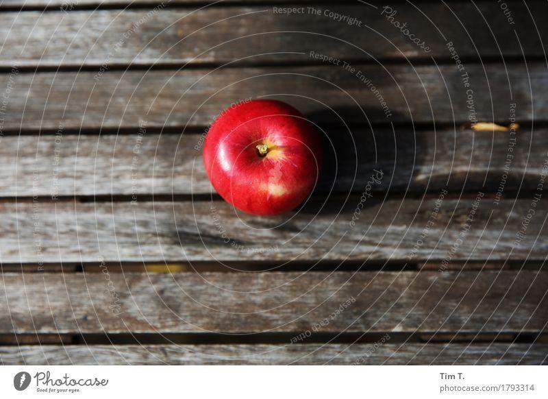 Herbstapfel Natur rot Umwelt Herbst Garten Lebensmittel Frucht Ernährung Tisch Bioprodukte Apfel