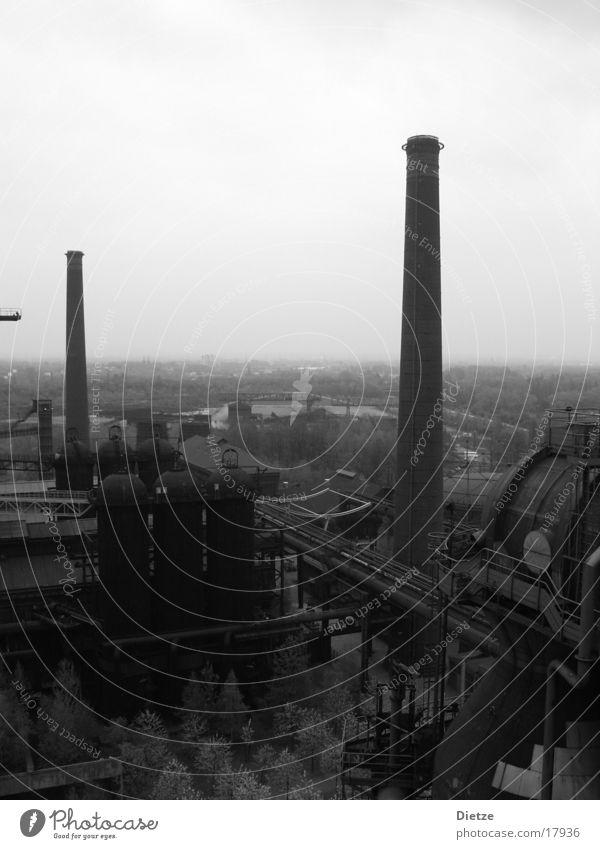 eisenhütte Industrie Schornstein Eisenhütte Ruhrgebiet