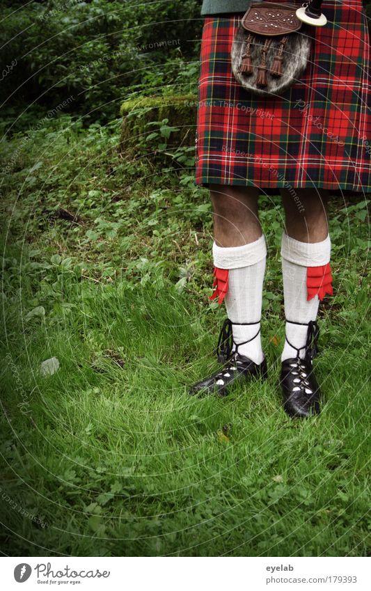 Picknickdeckenmode Mann Erwachsene Wiese Garten Stil Beine Fuß Park Freizeit & Hobby elegant maskulin Design authentisch Kultur Kitsch historisch
