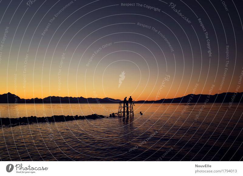 Bariloche. Mensch Jugendliche Leben 2 13-18 Jahre 18-30 Jahre Erwachsene Natur Landschaft Sommer Herbst Seeufer Abenteuer Kindheit lernen Team Farbfoto