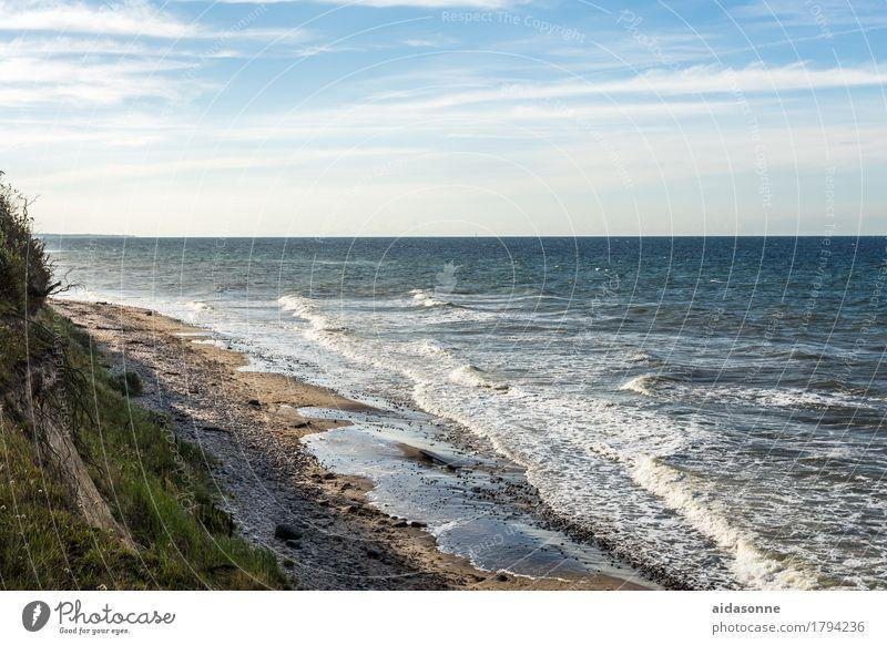 ostsee Natur Landschaft Wasser Ostsee Zufriedenheit Lebensfreude achtsam Vorsicht Gelassenheit geduldig ruhig Selbstbeherrschung Farbfoto Außenaufnahme