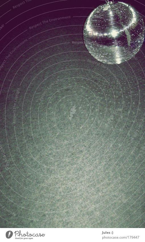Party Raum Musik Club Disco Feste & Feiern Tanzen Tänzer Musik hören Bühne Compact Disc Zeichen Kugel frieren glänzend trendy silber Design elegant Freude
