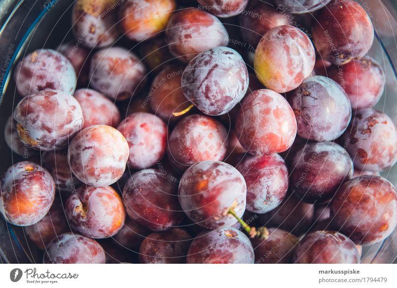 frische bio pflaumen urban gardening Lebensmittel Frucht Pflaume Pflaumenbaum Ernährung Essen Kaffeetrinken Picknick Bioprodukte Vegetarische Ernährung Diät