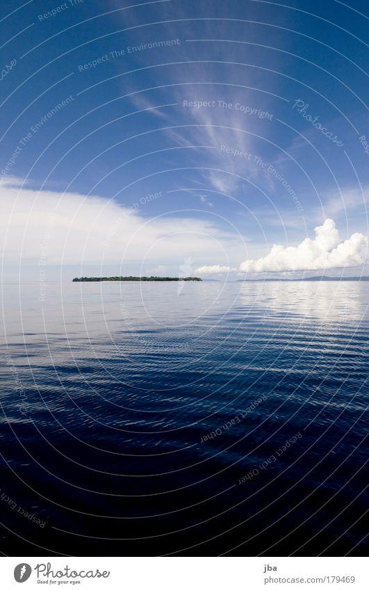 Siladen Natur Wasser schön Himmel Meer blau Sommer Strand Ferien & Urlaub & Reisen Wolken Ferne Freiheit Insel Tourismus Asien Urelemente