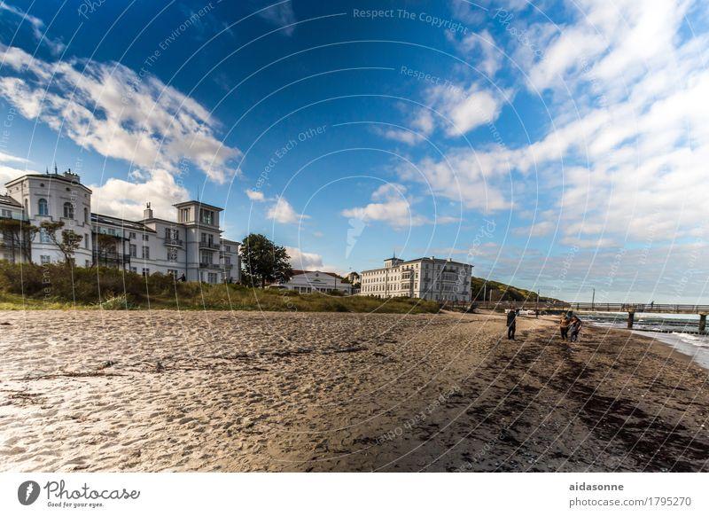 Heiligendamm schön Wasser Landschaft Zufriedenheit Wellen Schönes Wetter Romantik Ostsee
