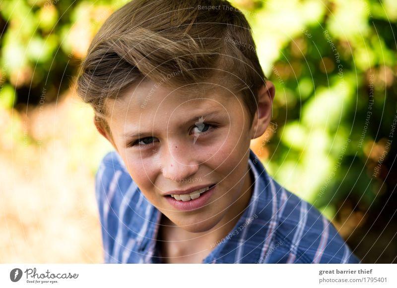 Mr. Newman Mensch Kind Jugendliche blau grün Leben Junge Familie & Verwandtschaft Haare & Frisuren maskulin frei frisch Kindheit einzigartig Bekleidung