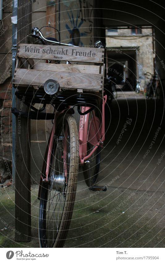 ...Freude Stadt Berlin Fahrrad Wein Hauptstadt Stadtzentrum Altstadt Rad Kiste Prenzlauer Berg