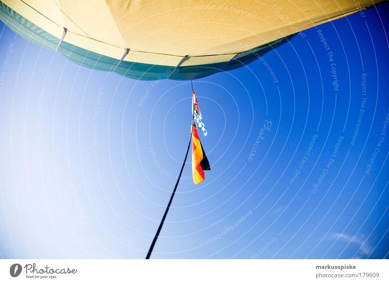 ballooning Textfreiraum unten Freizeit & Hobby Ferien & Urlaub & Reisen Tourismus Ausflug Ferne Freiheit Expedition Natur Himmel Wolken Sonne Sommer