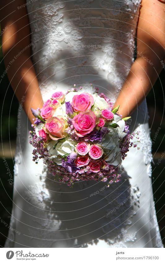 trau dich Mensch Jugendliche schön Junge Frau Blume 18-30 Jahre Erwachsene Blüte Liebe natürlich feminin Glück Zusammensein glänzend elegant Arme