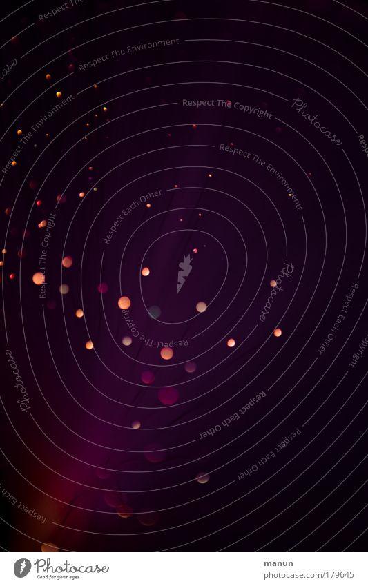 purple dots Freude rosa glänzend Design Geburtstag leuchten Dekoration & Verzierung violett Silvester u. Neujahr Veranstaltung abstrakt Lichtspiel Lichtschein