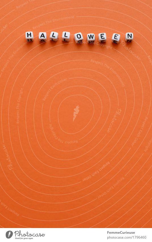 Halloween_1796460 Feste & Feiern orange Schriftzeichen Buchstaben
