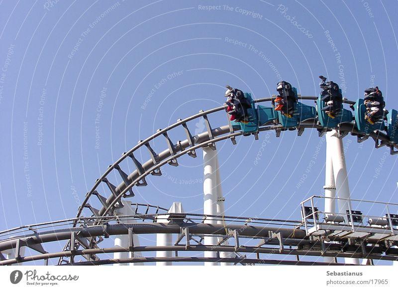 Eraser Achterbahn hängen Geschwindigkeit Fahrgeschäfte Vergnügungspark Freizeit & Hobby freischwebend
