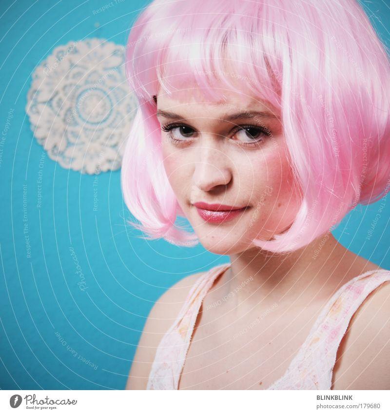 pretty Frau Mensch Jugendliche Gesicht Erwachsene Auge feminin Leben Kopf Haare & Frisuren Mode Kunst blond Mund Haut Nase