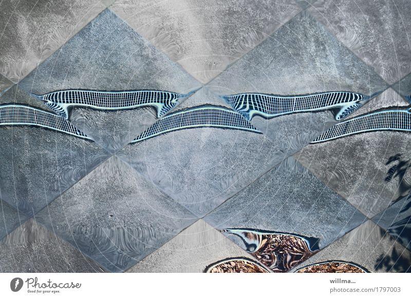 Von Monotonieverhalten und Krümmung Spiegelfliesen Spiegelbild Fliesen u. Kacheln Surrealismus Irritation Phantasie Verzerrung Reflexion & Spiegelung Experiment