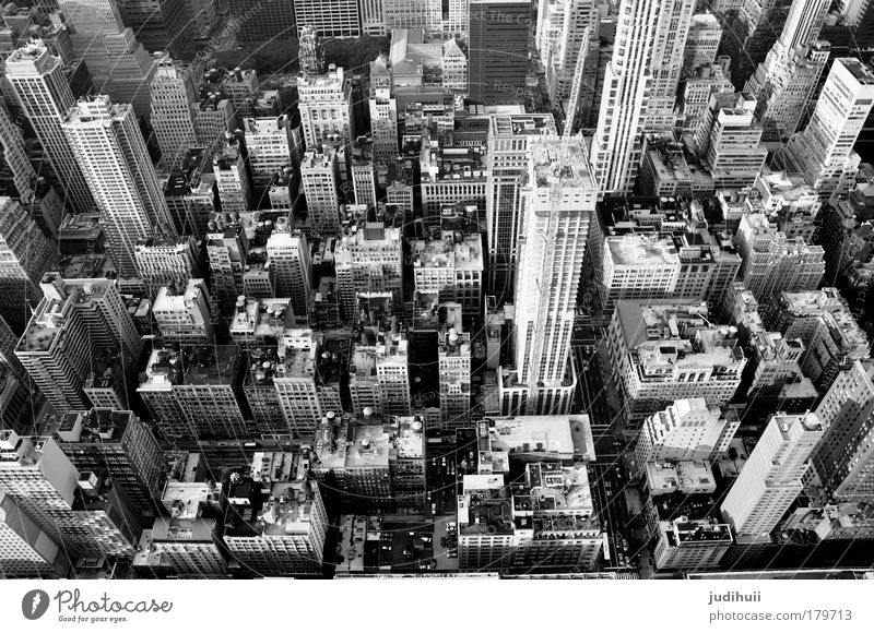 High Above The Sky(scrapers) weiß Baustelle Stadt Ferien & Urlaub & Reisen schwarz Haus Ferne Leben Architektur Gebäude Arbeit & Erwerbstätigkeit