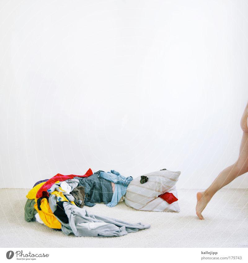 zieh dir was an! Mensch Mann Tier Erwachsene Beine Mode Fuß elegant maskulin Wachstum Häusliches Leben Lifestyle Bekleidung T-Shirt Stoff Kleid