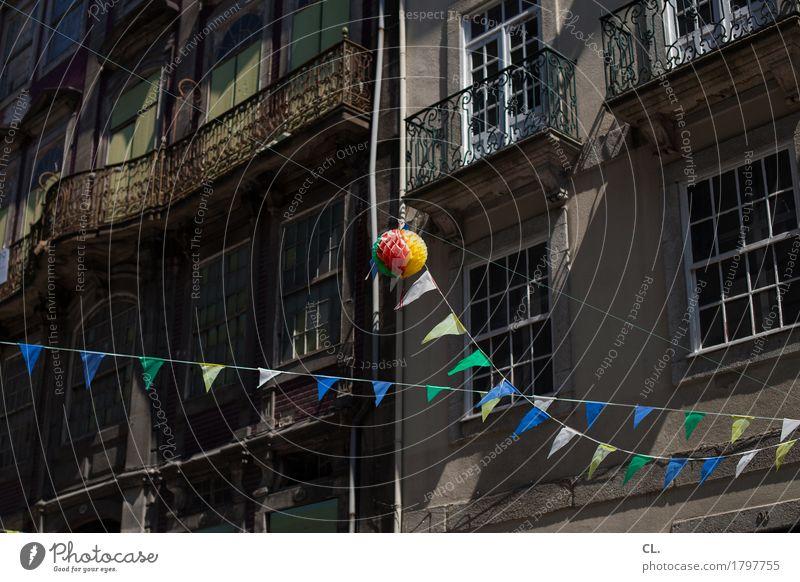 feiertag Ferien & Urlaub & Reisen Sommer Haus Freude Fenster Wand Mauer Feste & Feiern Party Fassade Tourismus Dekoration & Verzierung Ausflug Fröhlichkeit