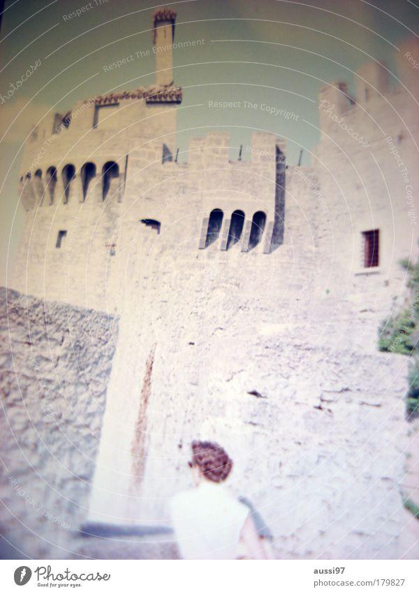 Marnie Ausflug Turm Dame Burg oder Schloss Sightseeing Festung Besichtigung