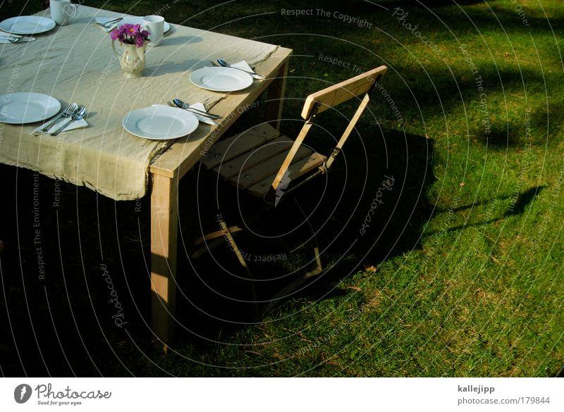 gartenkonzert Natur Blume Erholung ruhig Stil Lifestyle Glück Garten Wohnung Zufriedenheit Häusliches Leben Ernährung Tisch Kaffee Stuhl Möbel