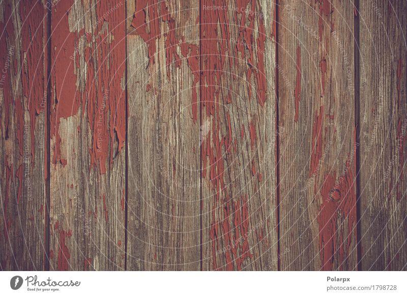 Rote Farbe, die weg vom Holz läutet Rost alt verblüht dreckig retro rot verwittert Wand Schiffsplanken Hintergrund rau Nutzholz Grunge Material Panel Verlassen