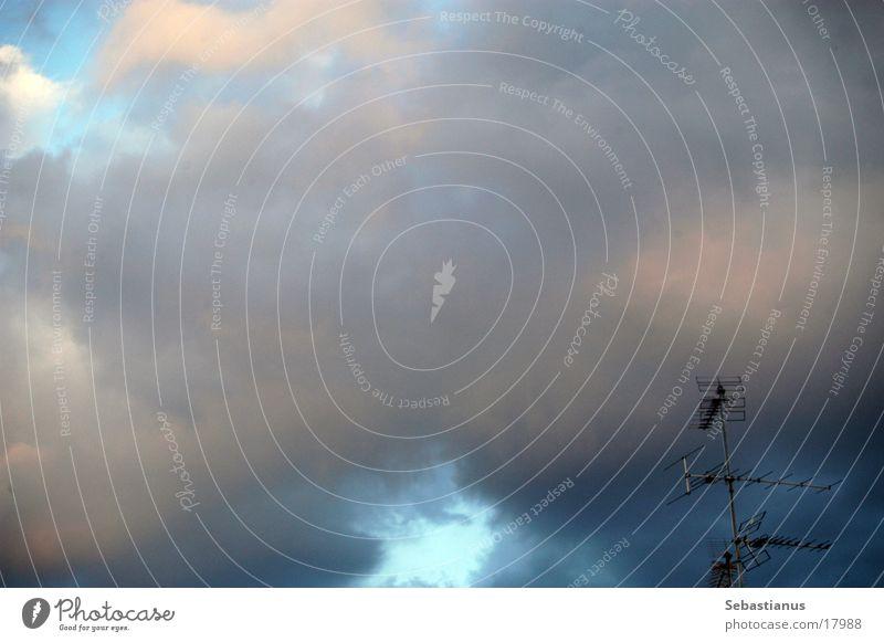 Fernsehen Anno dazumal Himmel analog Antenne Entertainment