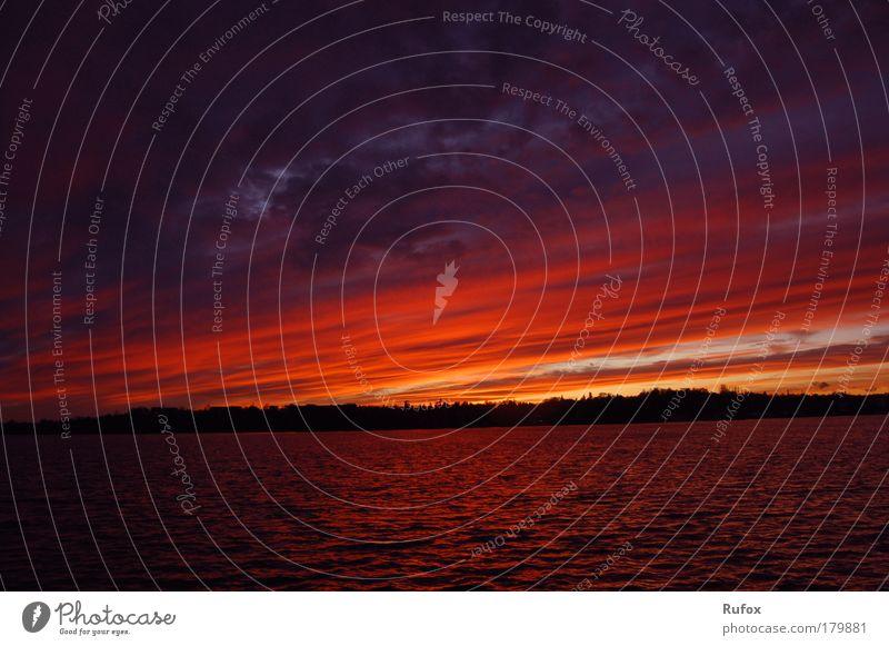 Regenbogen der Sonne Himmel Natur Wasser schön rot Sonne Sommer Winter Wolken schwarz gelb Herbst Gefühle Wärme Küste See