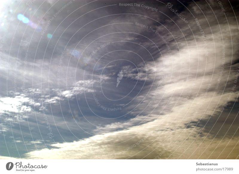 nen Himmel Himmel Sonne blau Wolken Verlauf