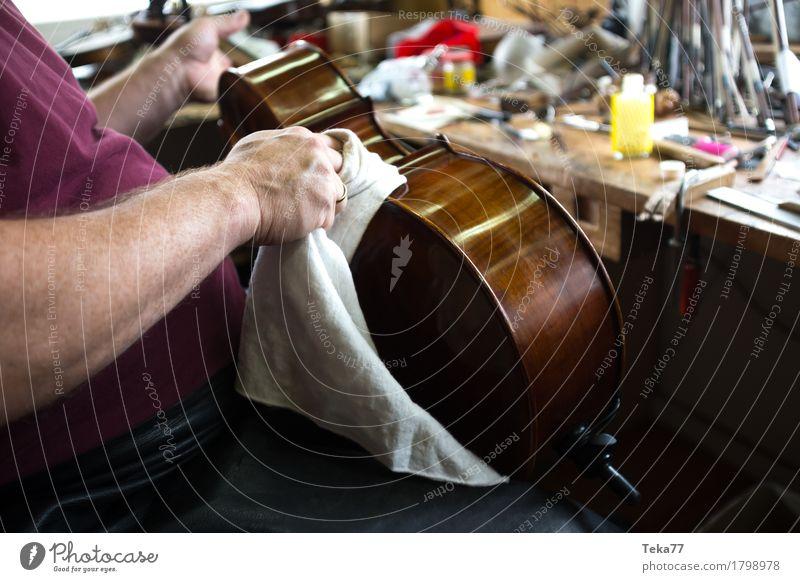 Geigenbau IIIIIII Stil Musik Beruf Handwerker Geigenbauer Arbeitsplatz Mensch ästhetisch Musikindustrie Musikinstrument Farbfoto Nahaufnahme Detailaufnahme