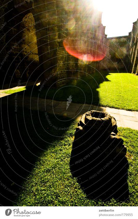 Kloster Ferien & Urlaub & Reisen Sonne Sommer Fenster Architektur Religion & Glaube Denken nachdenklich Glaube Ruine Bogen Torbogen Gotik Fensterbogen Kloster Hessen