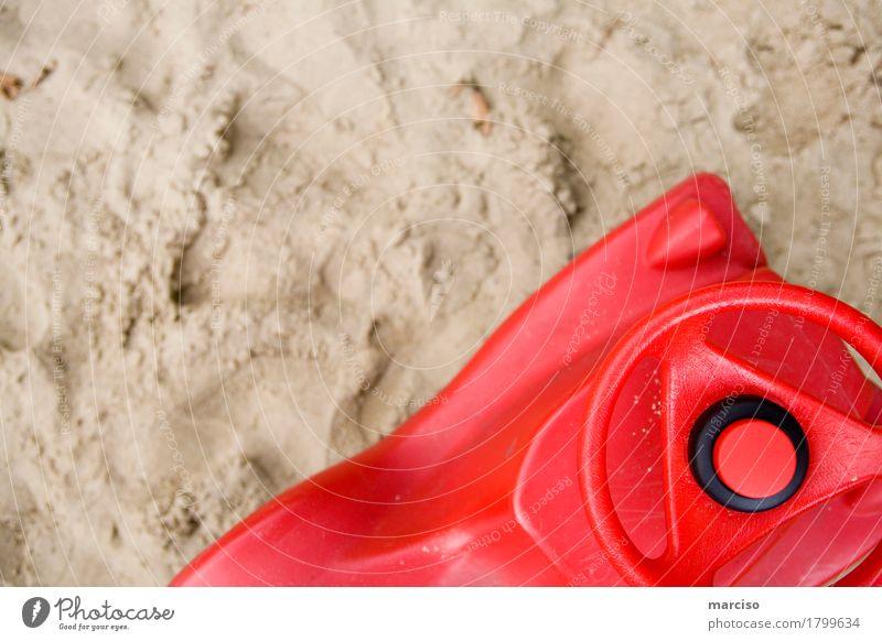 Bobby Car Kind rot Freude Mädchen Strand Erwachsene Junge Spielen klein Sand Freizeit & Hobby Kindheit lernen entdecken Spielzeug Kleinkind