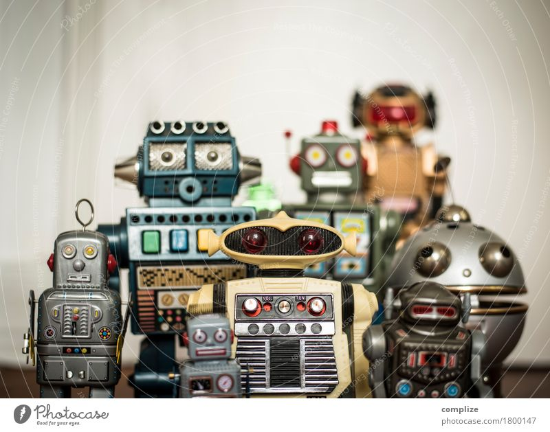 Robot Family Kind Freude sprechen Stil Gesundheit Familie & Verwandtschaft Business Feste & Feiern Design Freundschaft Freizeit & Hobby Technik & Technologie