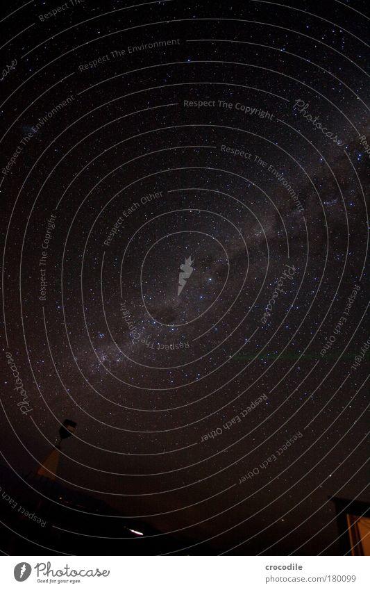 The Milkyway III- Kreuz des Südens Außenaufnahme Menschenleer Nacht Licht Schatten Kontrast Sonnenlicht Langzeitbelichtung Low Key Starke Tiefenschärfe