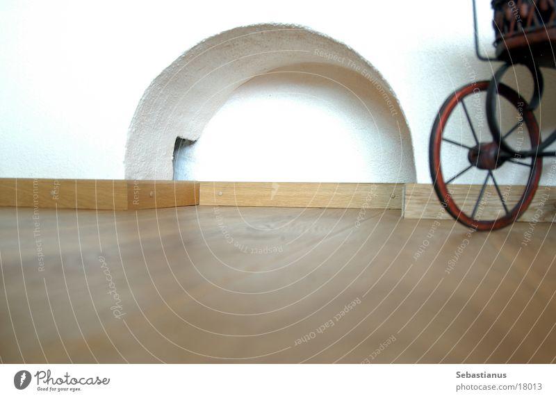 Parkett & Boden Holz Fahrrad Häusliches Leben Bodenbelag Wohnzimmer Bogen Kinderwagen