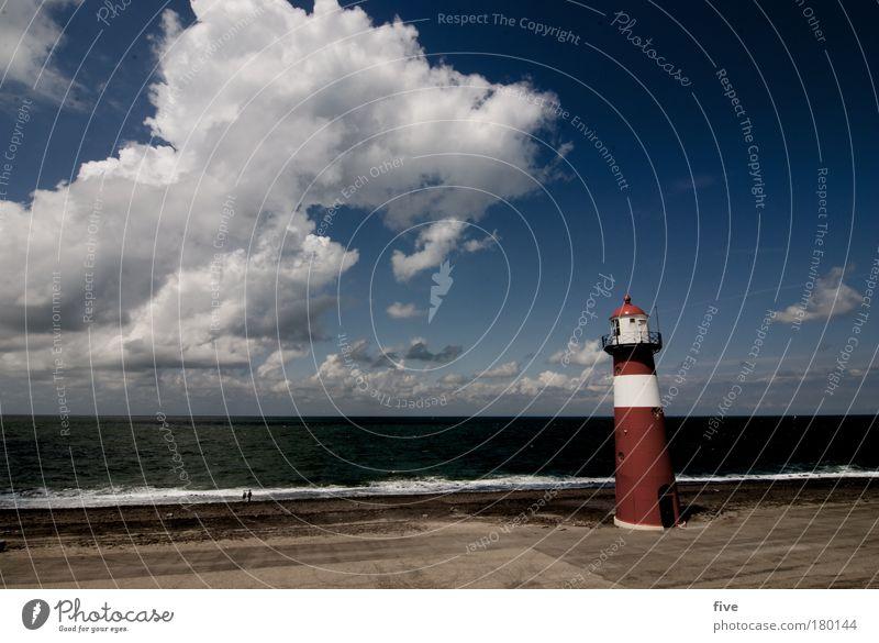 Westkapelle_V_zeeland Natur Wasser Himmel Meer Sommer Wolken Landschaft Stimmung Erde Wellen Küste Horizont Urelemente Leuchtturm Schönes Wetter