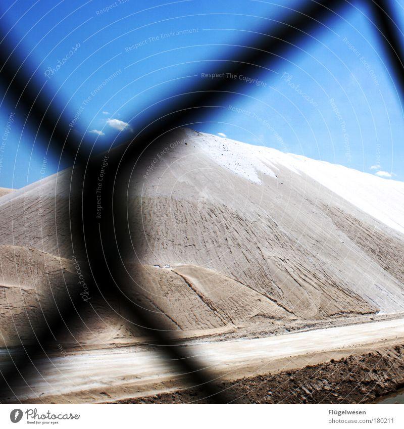 Salz der Erde Himmel Ferien & Urlaub & Reisen Berge u. Gebirge Sand Zufriedenheit Lebensmittel frisch Ernährung Hügel Zaun entdecken Kosmetik Israel Meerwasser