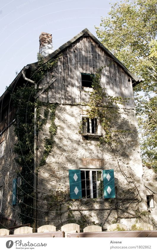mit Helgi unterwegs | Schnäppchen... alt schön Haus Fenster Holz außergewöhnlich Stein Fassade Häusliches Leben Zufriedenheit Idylle ästhetisch einzigartig