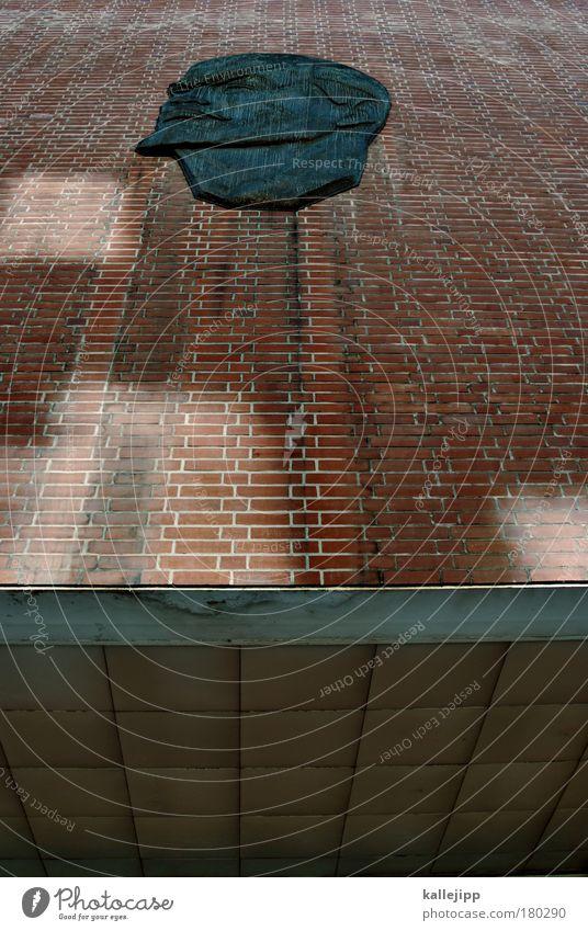 oskar lafontain Farbfoto Gedeckte Farben Außenaufnahme Detailaufnahme Tag Schatten Reflexion & Spiegelung Froschperspektive Porträt Bildung Mensch Mann