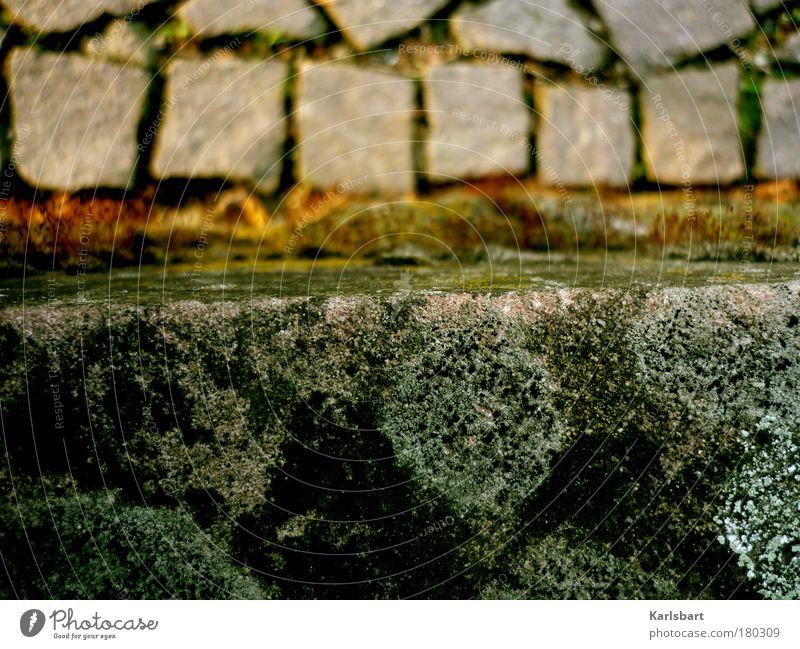 miniaturen. Straße kalt grau Wege & Pfade Stein Arbeit & Erwerbstätigkeit Treppe Zukunft Baustelle Ecke Beruf Bürgersteig Veranstaltung chaotisch Moos